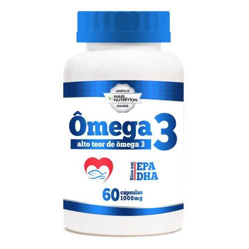 Omega 3 1000mg 60 Capsulas