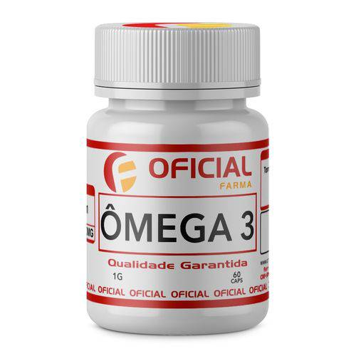 Omega 3 1g 60 Caps