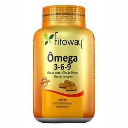 Omega 3-6-9 - 120 Cápsulas - Fitoway