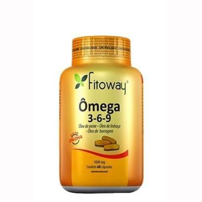 Omega 3-6-9 - 60 Cápsulas - Fitoway