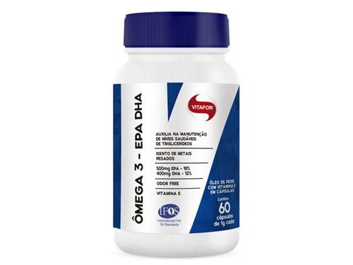 Ômega 3 Epa Dha 1000Mg Vitafor 60 Cápsulas