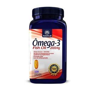 Ômega-3 Fish Oil - 120 Cápsula - Naturelab - 200mg