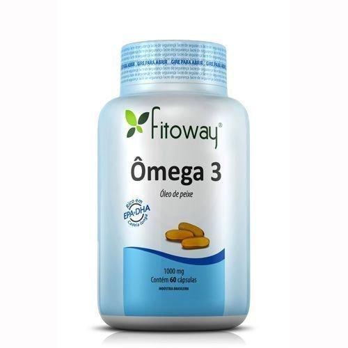 Omega 3 Fitoway 120 Capsulas