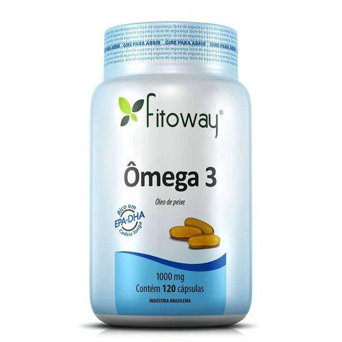 Omega 3 Fitoway - Óleo de Peixe 1.000mg - 120 Cápsulas