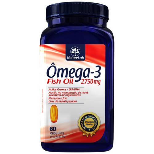 Ômega 3 - Óleo de Peixe - 60 Cápsulas - Okey