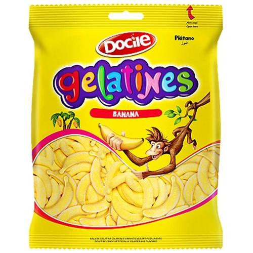 Pacote Bala Gelatines Banana - 250g