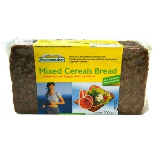 2 Pães Multi Cereais 500g Cada - Mestemacher