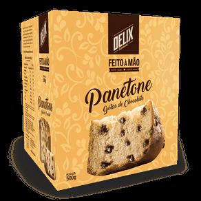 Panetone Delix com Gotas de Chocolate 500g (caixa)