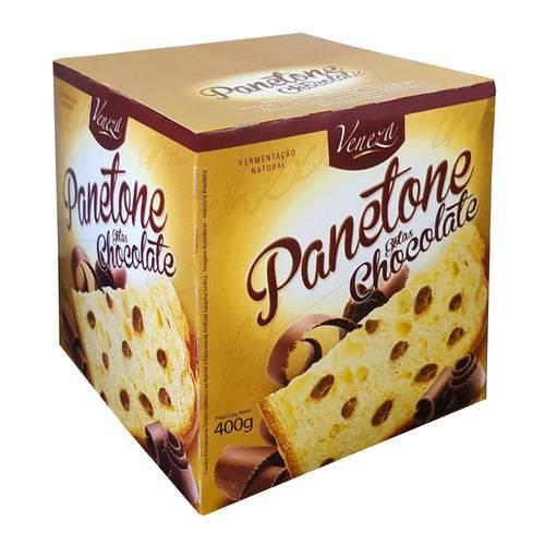 Panetone Gotas Chocolate 400g - Veneza