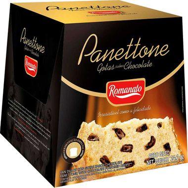 Panettone com Gotas de Chocolate Romanato 400g