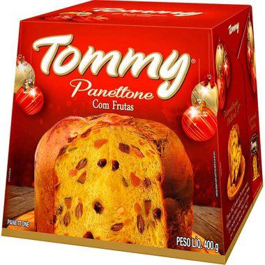 Panettone de Frutas Tommy 400g