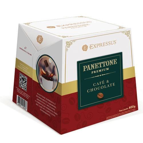 Panettone Expressus Premium Café e Chocolate 400g.