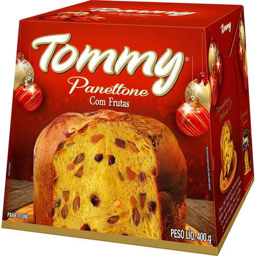 Panettone Frutas 400 Grs Tommy