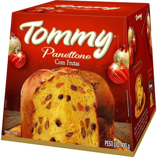 Panettone Frutas 400G Tommy
