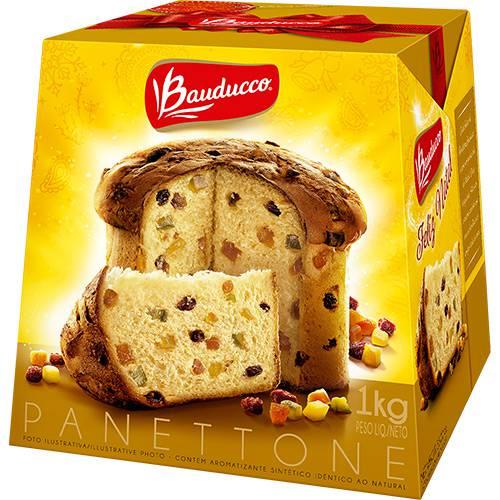 Panettone Frutas Bauducco - 1Kg