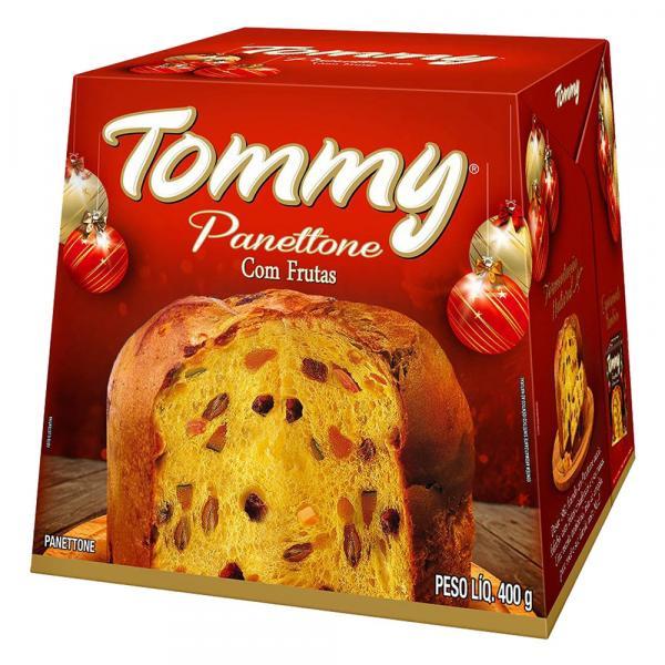 Panettone Frutas Cristalizadas 400g - Tommy