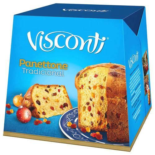 Panettone Frutas Cristalizadas 400g - Visconti