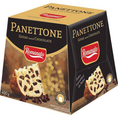 Panettone Gosta Chocolate 400gr - Romanato