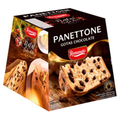 Panettone Gotas de Chocolate 400g - Romanato