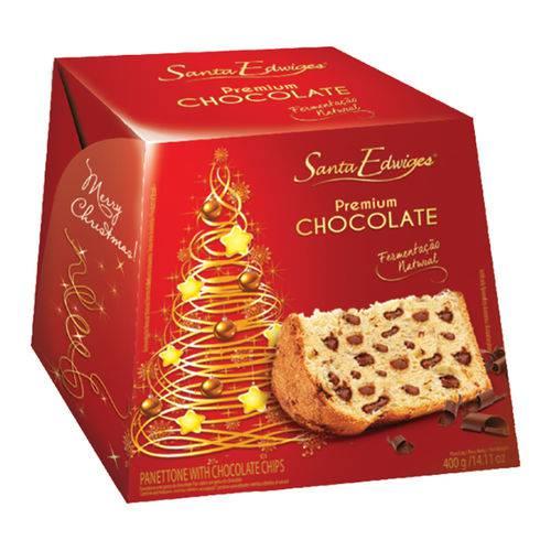 Panettone Gotas de Chocolate 400g - Santa Edwiges