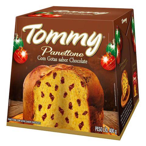 Panettone Gotas de Chocolate 400g - Tommy