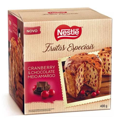 Panettone Gotas Meio Amargo e Cranberry 400g - Nestlé