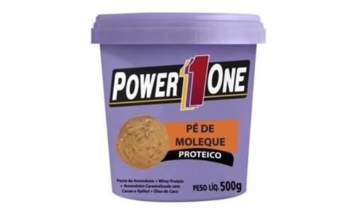 Pasta Amendoim Power One 500G (Pé de Moleque)