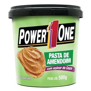 Pasta de Amendoim 500G Açúcar de Coco - Power One