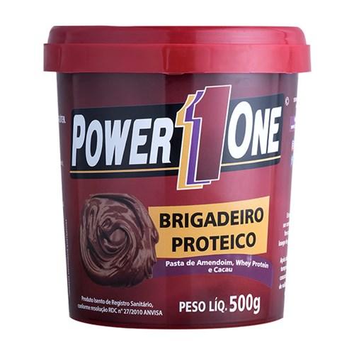 PASTA DE AMENDOIM (500g) POWER ONE - 7898939072787-1