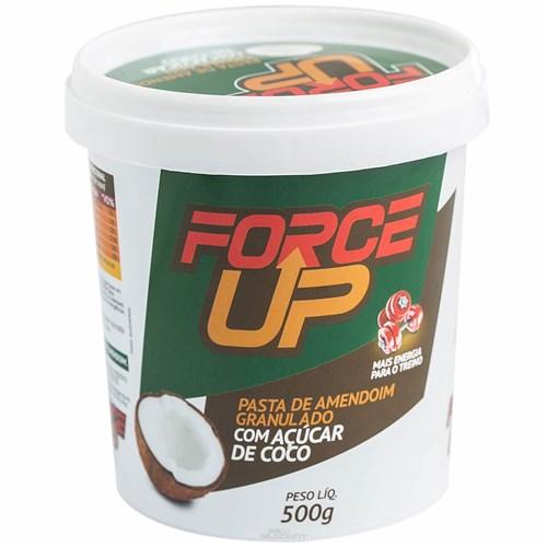 Pasta de Amendoim Açúcar de Coco 500G - Force Up