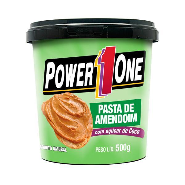 Pasta de Amendoim - Açúcar de Coco (500g) - Power1One