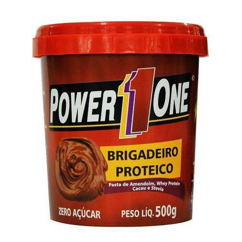 Pasta de Amendoim Brigadeiro Proteico 500g - Power One