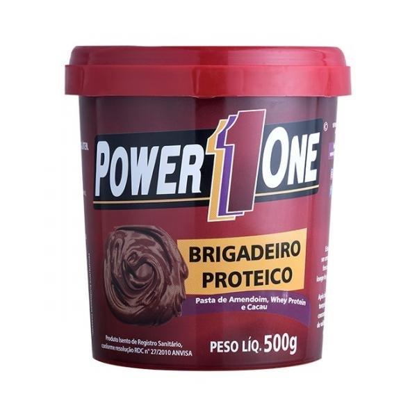 Pasta de Amendoim Brigadeiro Proteico (500g) - Power One