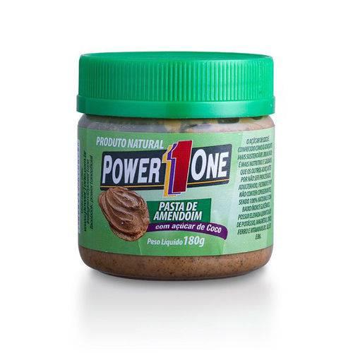 Pasta de Amendoim Brigadeiro Protéico Power One 180g