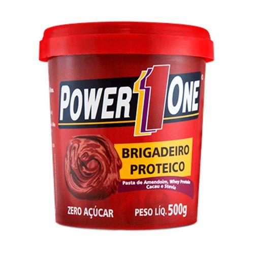 Pasta de Amendoim Brigadeiro Proteíco - Power One - 500g