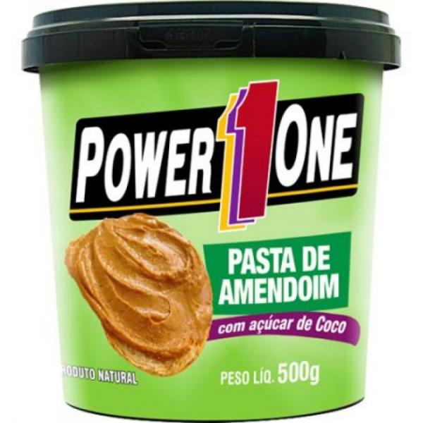 Pasta de Amendoim C/Acuçar Coco 500G - Power One