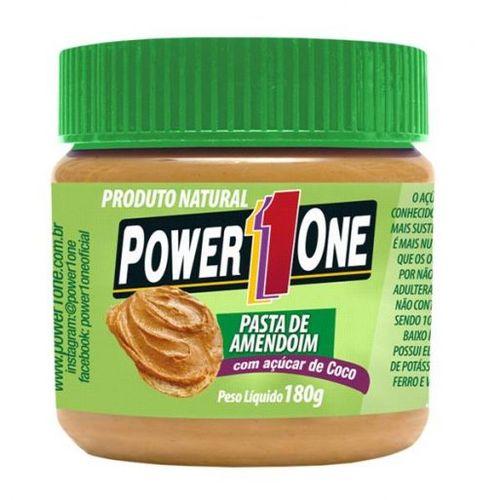Pasta de Amendoim C/ Açúcar de Coco (180g) Power1one