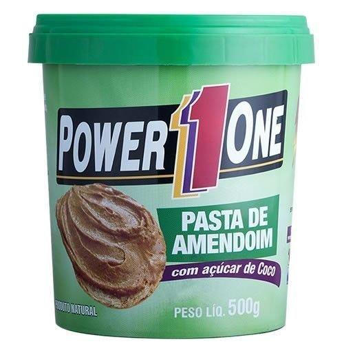 Pasta de Amendoim C/ Açúcar de Coco - 500g - Power 1 One