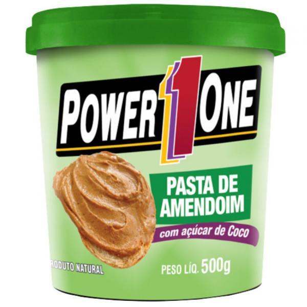 Pasta de Amendoim C/ Açúcar de Coco (500g) - Power One