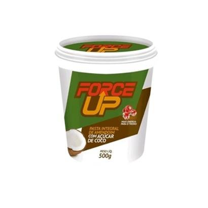 Pasta de Amendoim C/ Açúcar de Coco 500gr - Force Up