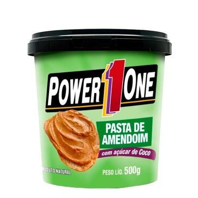 Pasta de Amendoim com Acucar de Coco 500 G - Power One