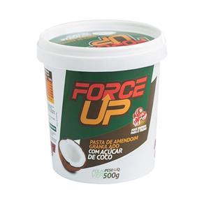 Pasta de Amendoim com Açucar de Coco 500G - Force Up