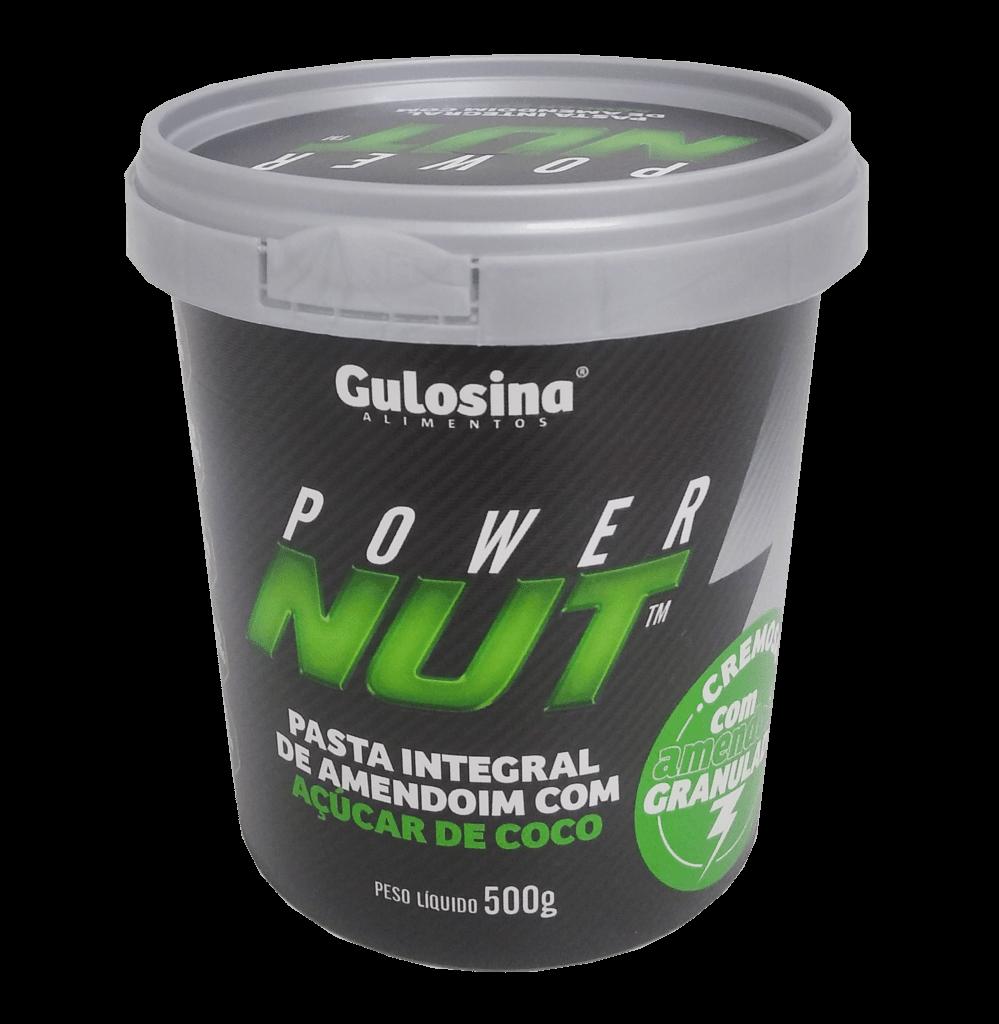 Pasta de Amendoim com Açúcar de Coco (500G) Power Nut