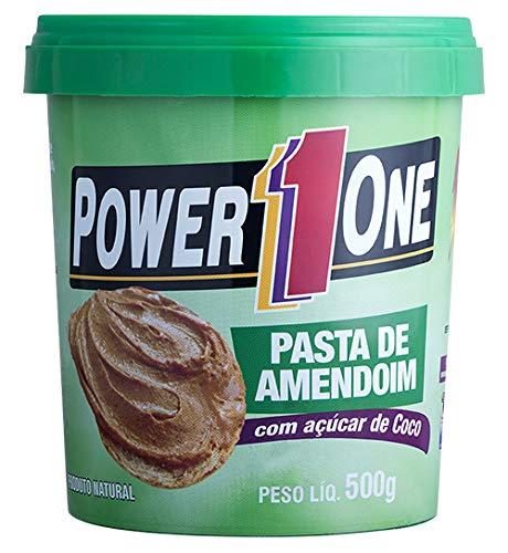Pasta de Amendoim com Açúcar de Coco - 500g - Power One, Power One