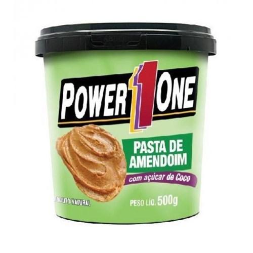 Pasta de Amendoim com Açúcar de Coco 500Gr - Power One