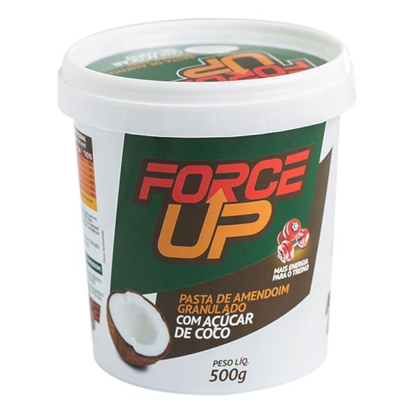 Pasta de Amendoim com Açucar de COCO - Force Up - 500g