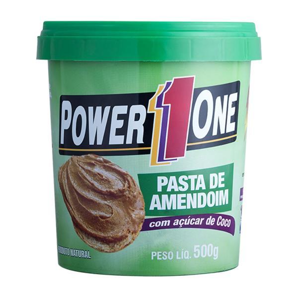 Pasta de Amendoim com AÇÚCAR de COCO - Power One - 500g