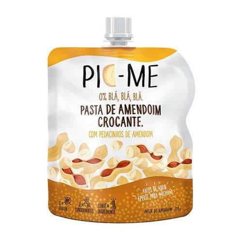 Pasta de Amendoim Crocante 200g - Pic-me