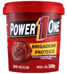 Pasta de Amendoim - Power One - Brigadeiro Proteico - 500g