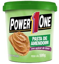 Pasta de Amendoim - Power One - com Açúcar de Coco - 500g